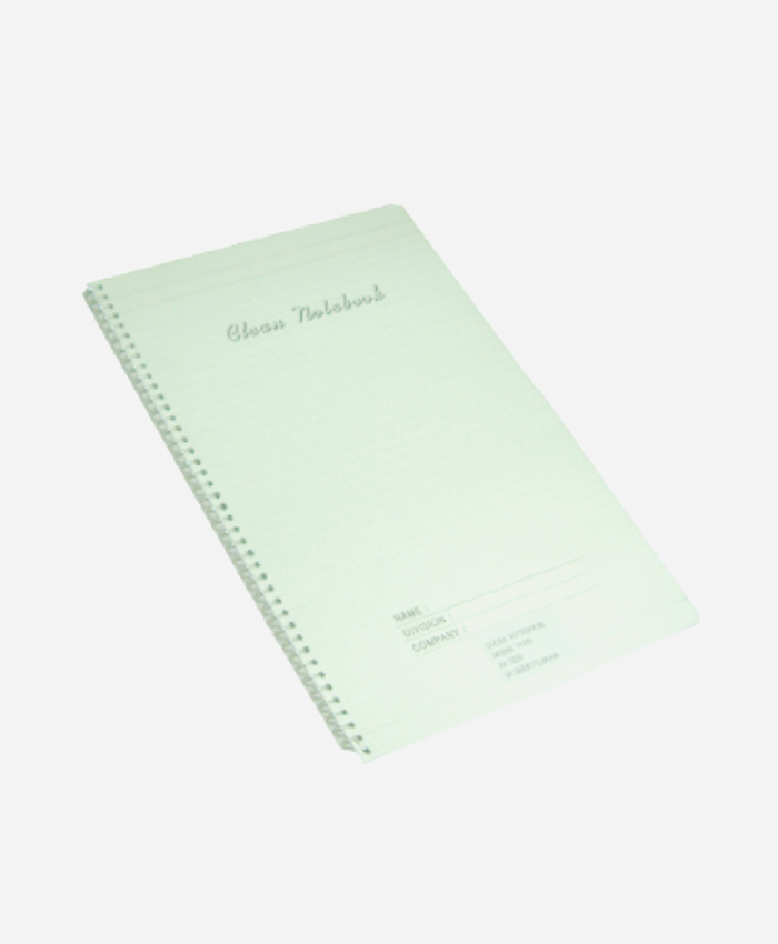 Cleanroom Spiral Notebook