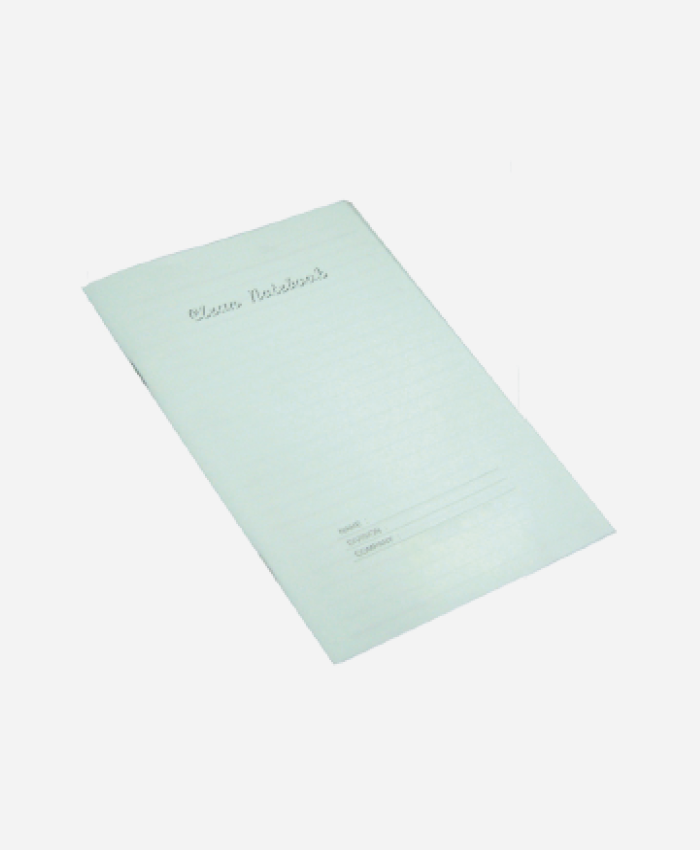 Cleanroom Stapled Notebook