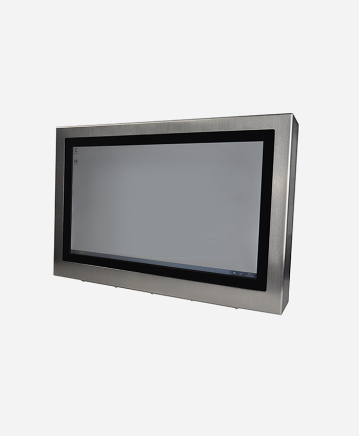 """Stainless Steel Industrial Client Computer (22"""")"""