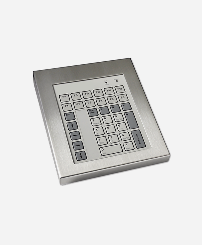Stainless Steel Industrial Keyboard (42 Key)