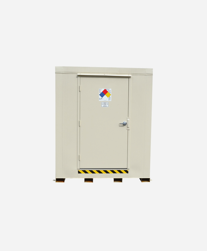 Fire-Rated Outdoor Safety Locker
