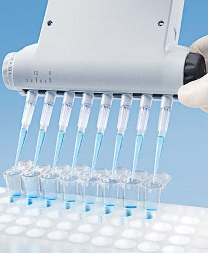 Adjustable Spacer Electronic Pipette